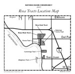 Rosa Tracts Location Map