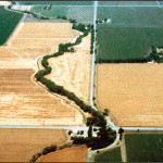 Aerial view of Typical Swainson's Hawk habitat