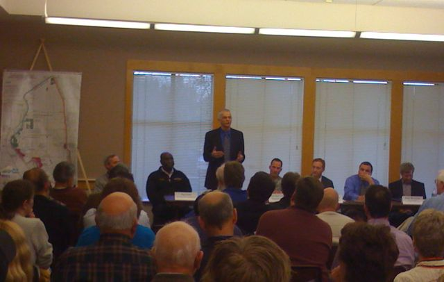 Public meeting at at the Natomas Community Center