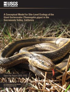 view the Conceptual Model for Site-Level Ecology of the Giant Gartersnake in PDF format