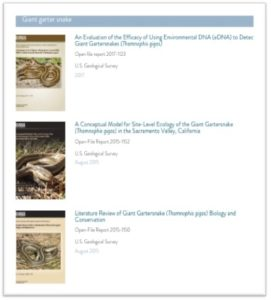 view the research on the NBHCP covered species in PDF format